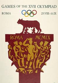 Cartel JJ.OO. Roma 1960