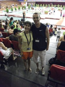 Cristina MJ y Pablo Hinojar. Foto tomada por Víctor Díaz.