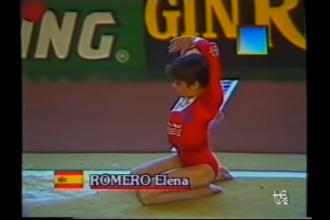 Elena Romero Cto. España 1990 TVE