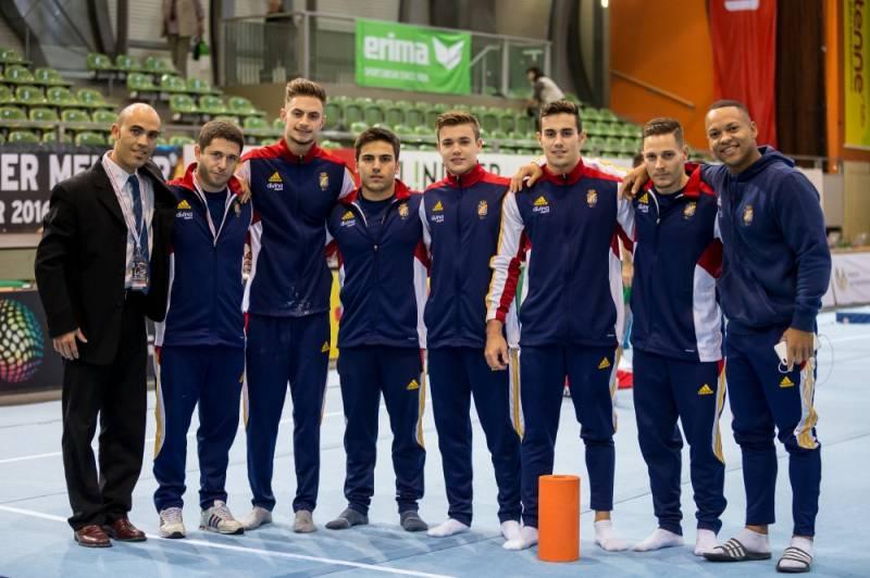 Equipo español MAG para Cottbus. Noviembre 2016. Foto: sportfotos-berlin.de