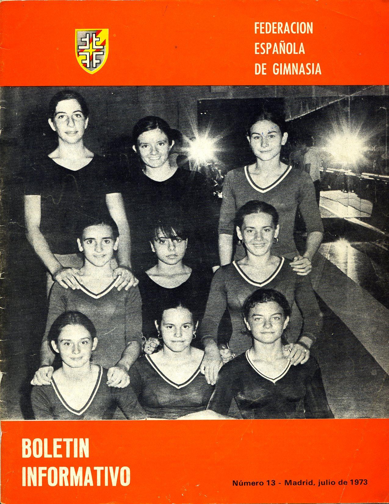 Equipo GAF 1973 Madrid.