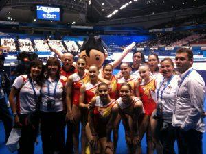 Equipo GAF Mundial Tokio 2011