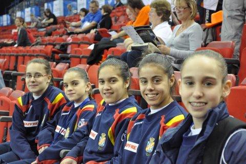 Equipo sénior del Europeo 2010. Foto: Lina Sáez.