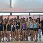 Gimnastas y entrenadores