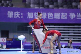 Liu Tinting y Guan Chenchen