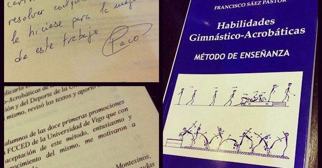 Francisco Sáez Pastor (2015). Habilidades Gimnástico-Acrobáticas. Método de enseñanza.