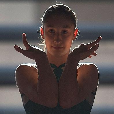Sara Moro. Último entrenamiento.