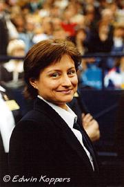 Shushunova en agosto de 2001