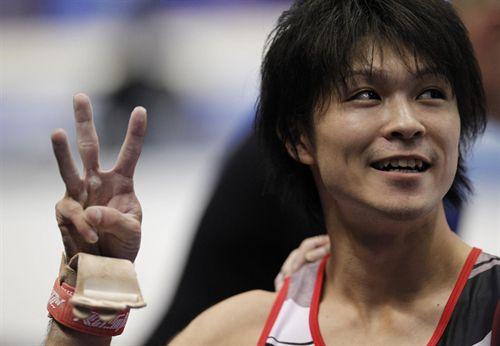 Kohei Uchimura. Foto: Reuters.