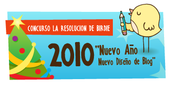 """Concurso """"La resolución de Birdie"""""""