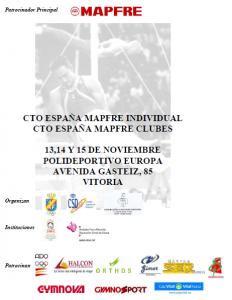 Campeonato de España individual y de clubes 2009 GAM