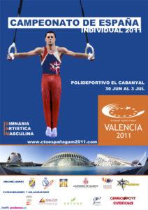 Campeonato de España individual de GAM 2011