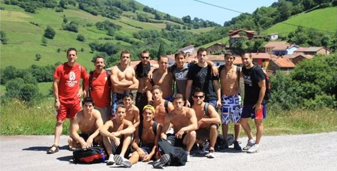 Equipo español de GAM en Gijón. 2010.