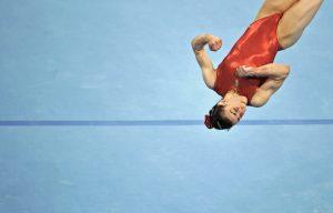 Lénika de Simone en los entrenamientos oficiales. Foto FRANCK FIFE/AFP/Getty Images.