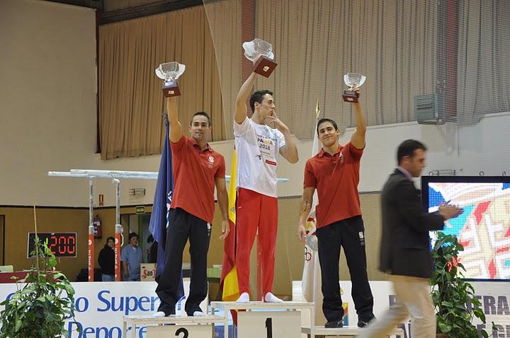 Ganadores de la Copa de España de GAM 2011. Foto: Lina Sáez.