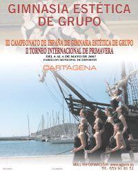 III Campeonato de España de gimnasia estética de grupo