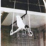 José Ginés de juvenil en el gimnasio Moscardó. Fotografía proporcionada por José Ginés.