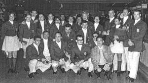 Equipos españoles de gimnasia para los Juegos Mediterráneos de 1971