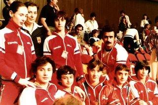 Ramón García y sus pupilas. Foto cortesía de R. García.