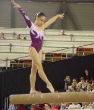 Sara Moro en el Campeonato del Mundo de 2001 en Gante (Bélgica). Fotografía: Gymnet.org
