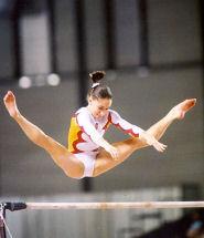 Sara Moro en el Campeonato del Mundo de 2001 en Gante (Bélgica). Fotografía: Rowena Pearce.